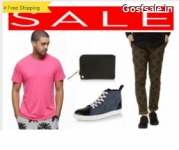 Koovs Men Apparel, Shoes, accessories up to 60% off