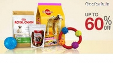 Pet Supplies upto 70% + Free Rs. 200 Amazon Gift Card on Purchase of Rs. 500 – Amazon