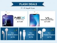 Vivo Freedom Sale- Vivo Nex , V9 In Just ₹1947 | Headphone @ ₹72 ( Live @ 12PM)