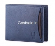 Wildhorn Blue Leather Men's Wallet @ Rs.349 – Amazon