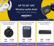 🚩 Wireless Audio Sale ⚡ Up to 50% OFF 🌟 Free of wires, full of savings – Amazon India