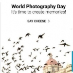 World Photography Day Offers : 20th August Offers on Camera's