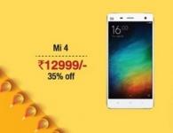 Xiaomi Mi4 Rs.12999 : Amazon Great Indian Diwali Sale : Amazon 26 October Offers