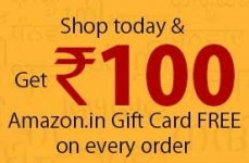 Amazon 2nd July Offer : Free 100 Gift Voucher on any Purchase