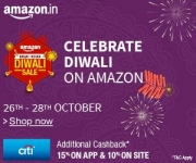 Amazon Great Indian Diwali Sale Offers : Amazon Diwali Sale : 26 – 28th October