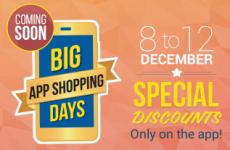 Flipkart Big App Shopping Days GOSF 2014 ~ 8 to 12 Dec