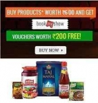 Bigbasket Free Bookmyshow Voucher on Purchase of Rs.600 – BigBasket