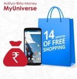 14 Minutes of Free Shopping + Free Rs.299 Cash – Myuniverse