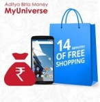 14 Minutes of Free Shopping + Free Rs.299 Cash – Myuniverse