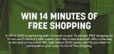 WIN 14 MINUTES OF FREE SHOPPING – GOSF 2014 Free Shopping Contest