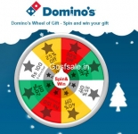 http://piza.io/christmas : Domino's Wheel of Gift : Win surprise gifts