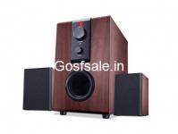 iBall Raaga Q9 2.1 Full Wood Speakers Rs. 999 – Amazon
