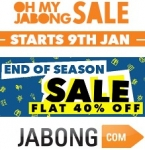 Oh My Jabong Sale 9th Jan : Flat 90% Off