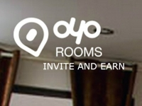 Oyo Rooms Invite and Earn : Oyo Refer and Earn Offer : Rs.200 Per Refer